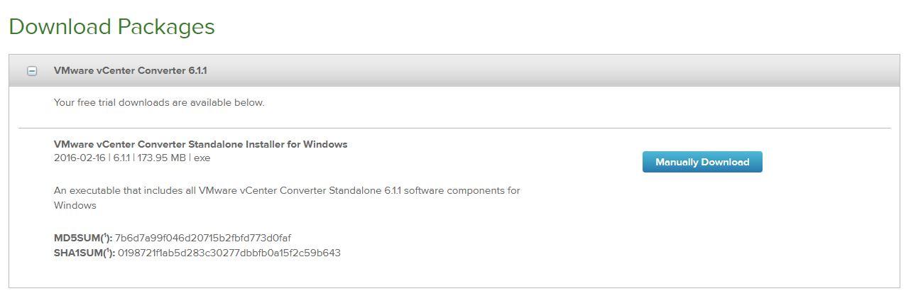 download vmware converter